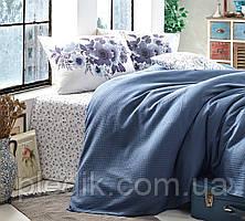 Комплект постельного белья с простыней Пике 220з230 Garden Anemone