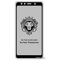 Защитное стекло 5D Full Glue для Samsung Galaxy A7 (2018) SM-A750F Black (Screen Protector 0,3 мм)