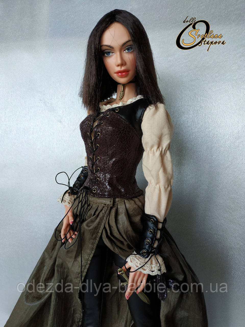 Авторская шарнирная кукла Ханна, МСД. Полиуретан