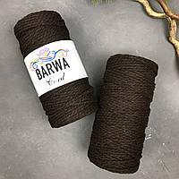 Шнур хлопковый крученый 4 мм Цвет БИЗОН