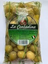 Оливки гігантські La Contadina 850 грм (Італія)