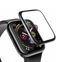 Защитное стекло Glass скругленное для Apple Watch 44mm