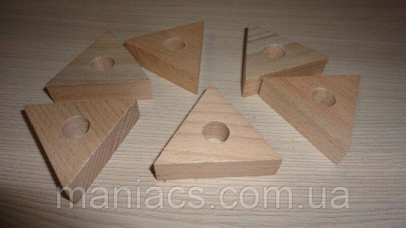 Заготовка для кулона. Треугольник