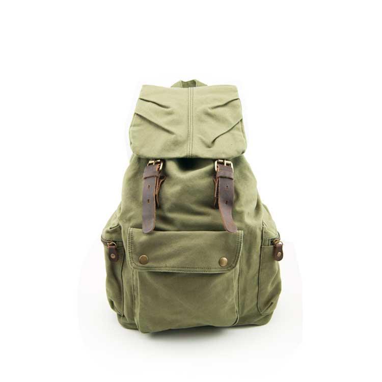 Рюкзак городской S.c.cotton зеленый
