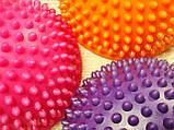 Балансировочная полусфера D=16см, h=9см (1 шт.) Розовая, фото 9