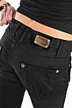 Джинсы ОMAT jeans 9570 черные, фото 9