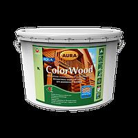 Aura ColorWood Aqua (белый / орех / палисандр )   2,5 л