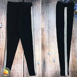 Чёрные лосины для подростков Размеры: 9,10,11,12 лет (20515-3)