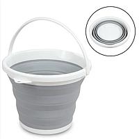 Ведро складное (круглое) Folding Bucket 10 л
