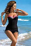 Эффектный женский купальник танкини в 4х цветах Tankini