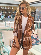 Пиджак женский модный стильный размер 42-54, купить оптом со склада 7км Одесса