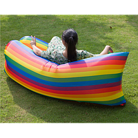 Надувной матрас-ламзак AIR-sofa Rainbow