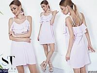 Женское летнее легкое платье