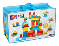 Конструктор Мега блокс набор 150 деталей Mega Bloks First Builders Deluxe Building Bag