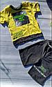 Комплект коттоновый для мальчиков: футболка шорты Размеры 3- 7 лет Турция, фото 3