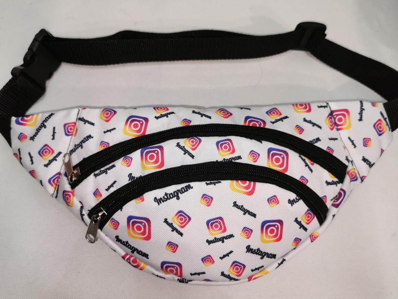 Сумка на пояс INS Ткань Принт спортивные барсетки сумка только опт