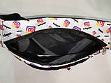 Сумка на пояс INS Ткань Принт спортивные барсетки сумка только опт, фото 5