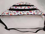 Сумка на пояс INS Ткань Принт спортивные барсетки сумка только опт, фото 3