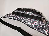 Сумка на пояс Tik Tok Ткань Принт спортивные барсетки сумка только опт, фото 3