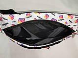 Сумка на пояс Tik Tok Ткань Принт спортивные барсетки сумка только опт, фото 5