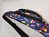 Сумка на пояс LIKEE Ткань Принт спортивные барсетки сумка только опт, фото 3
