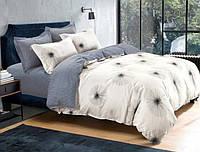 Двуспальный набор постельного белья Черешенка Gold №157305AB 180х220 Бязь Бежевый (BC2G157305AB)