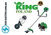 Бензокоса KING BC430 4800 W (Свой импорт с Польши) Мотокоса