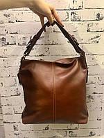 Модная женская кожаная сумка из мягкой кожи