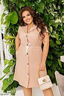 Женское летнее платье большие размеры