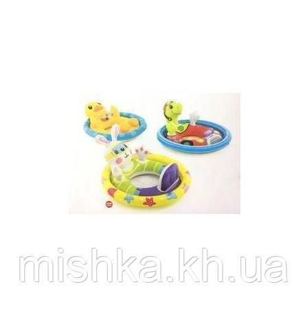 Intex Детский надувной плотик-райдер