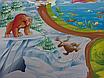 Детский коврик 2000х1200х8мм, «Мадагаскар», теплоизоляционный, развивающий, игровой коврик, фото 3