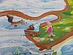 Детский коврик 2000х1200х8мм, «Мадагаскар», теплоизоляционный, развивающий, игровой коврик, фото 2