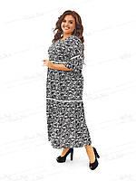Платье в стиле бохо из штапеля 453-1 54