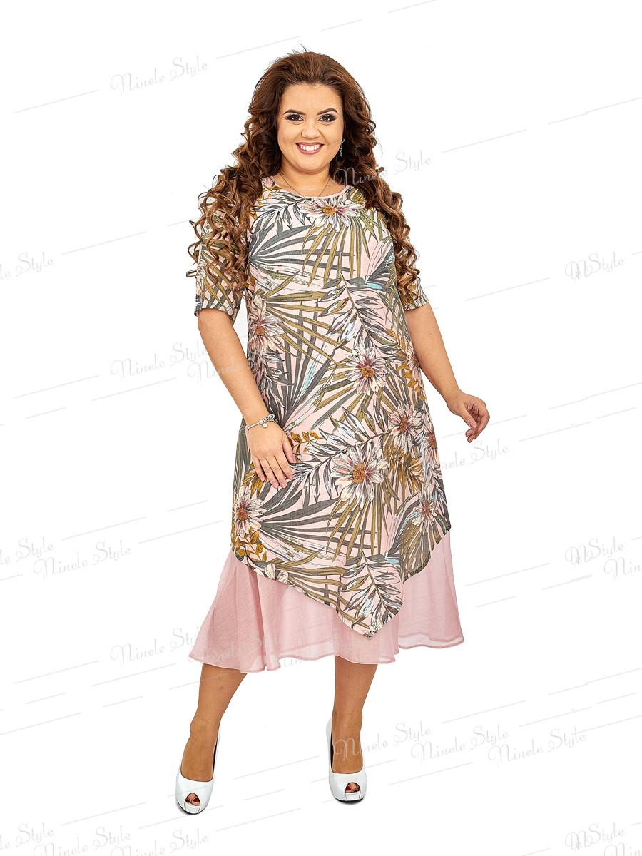 Нарядное платье из натуральной ткани 455-2