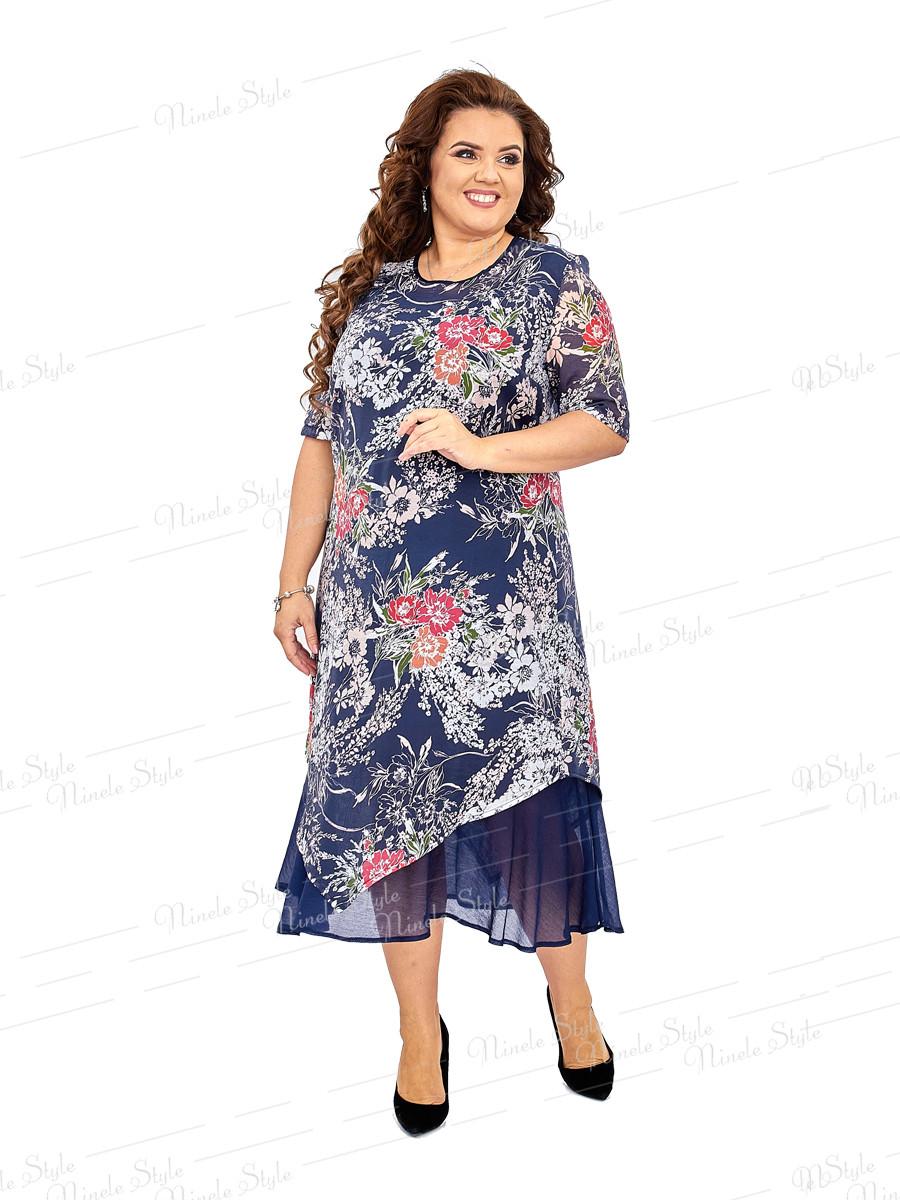 Нарядное платье из натуральной ткани 455 56