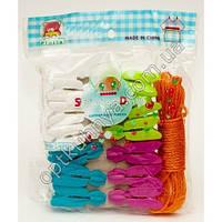 25512 (набор верёвки с прищепками )