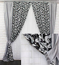 Об'єднані штори з тканини блекаут. Код 014дк (043(А)-157)