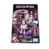 Конструктор Мега блокс комната Дракулауры Монстер хай  Mega Bloks Monster High Draculaura's Vamptastic Room