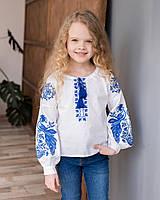 Блуза з вишивкою для дівчинки в стилі бохо Жарптиця