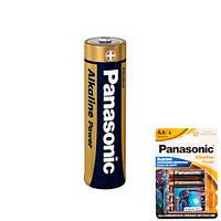 Батарейка AA LR6 Panasonic Alkaline щелочная 1.5В