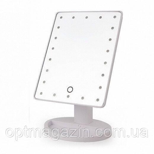 Зеркало для макияжа Mirror LED \ Зеркало квадратное с подсветкой
