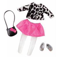 Аксессуар к кукле LORI Набор одежды для кукол - Стильный с юбкой (LO30024Z)