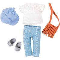 Аксессуар к кукле LORI Набор одежды для кукол - Сумка с бахромой (LO30022Z)