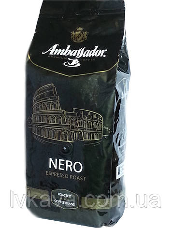 Кофе в зернах Ambassador NERO, 1кг, фото 2
