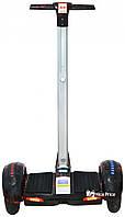 Сигвей гироскутер A8 c ручкой 10 (Bluetooth, колонками, самобаланс, APP) Red Lightning (5481)