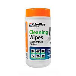 Вологі серветки для чищення ColorWay CW-1071