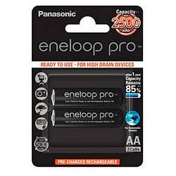 Акумулятор AA 2500 mAh Panasonic Eneloop Ni-MH блістер (2шт)