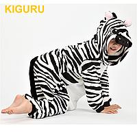 Пижама детская, костюм зебры