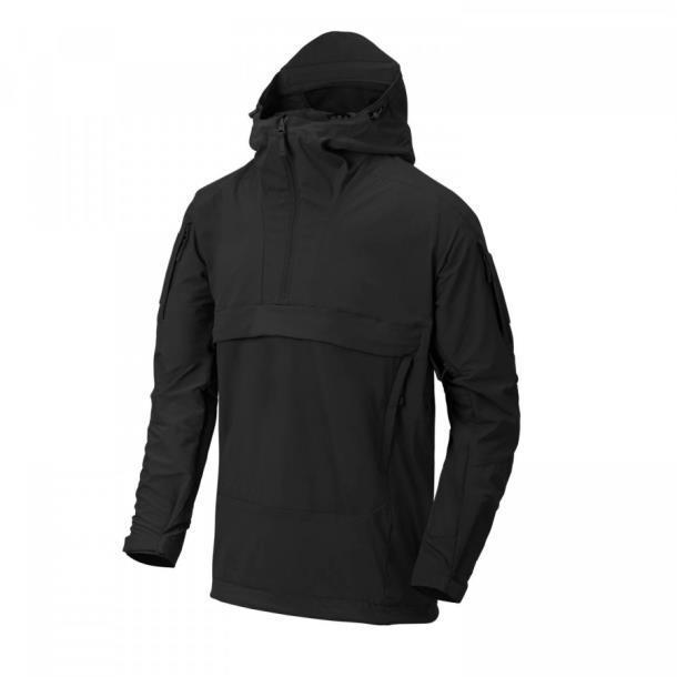 Курточка Helikon Mistral Anorak Black чёрная  (KU-MSL-NL-01)