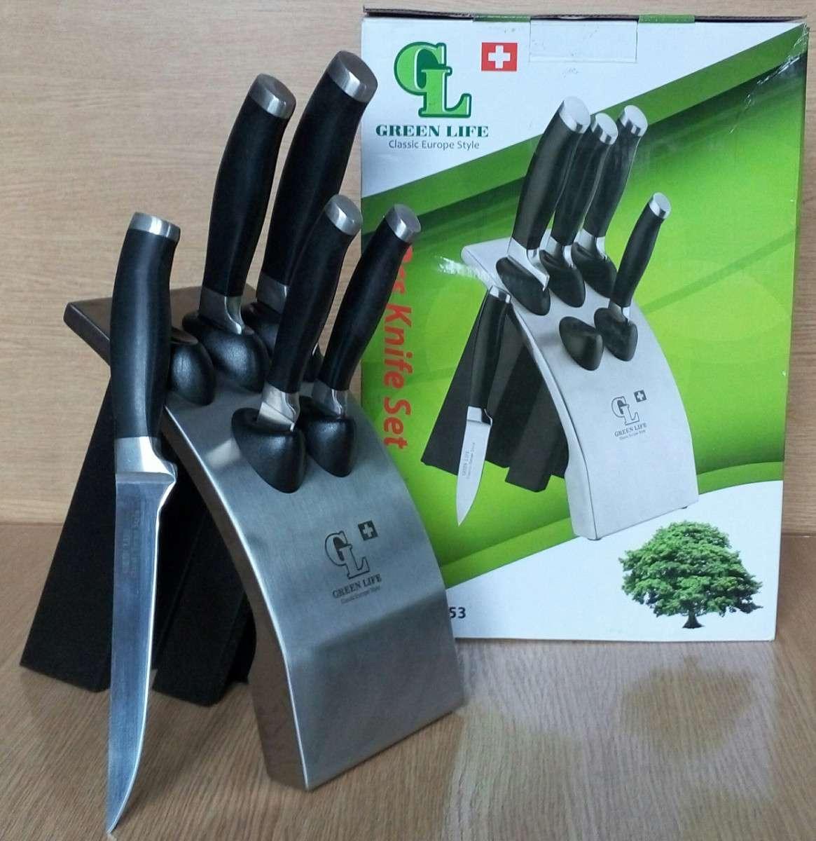 Набор ножей Green Life GL-0453